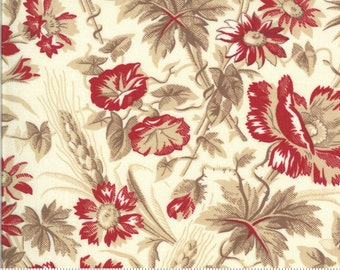 La Rose Rouge Pearl 13881 15 by French General for moda fabrics