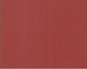 Sarah's Story 1830-1850, Turkey Red 31598 18 fabric designed by Betsy Chutchian for Moda Fabrics