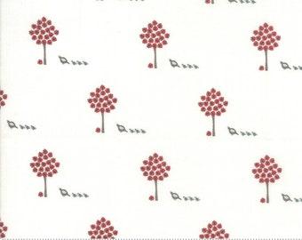 101 Maple Street Marshmallow Cream 2930 18 designed by Bunny Hill Designs for Moda Fabrics