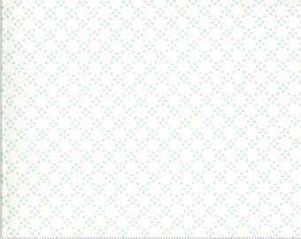 Dover Tonal Dot Sea Glass 18704 14 by Brenda Riddle for Moda Fabrics