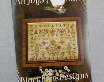 All Joys for Thine by Blackbird Designs...cross stitch pattern, cross stitch
