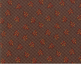 Hickory Road Dark Brown 38061 25 by Jo Morton for Moda Fabrics