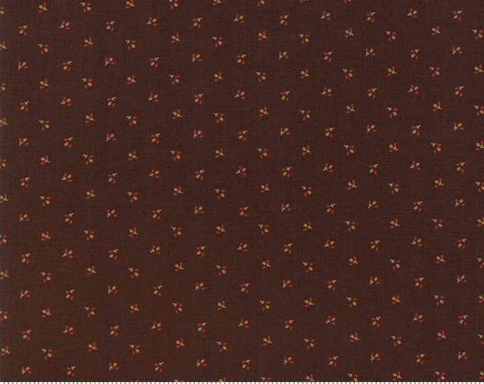 Spice It Up Dark Brown 38057 18 by Jo Morton for Moda Fabrics