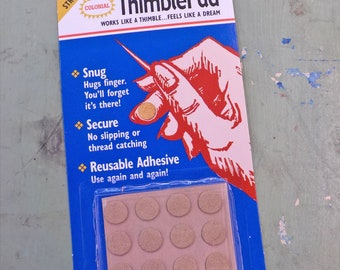 "Colonial ThimblePad...""works like a thimble...feels like a dream"""