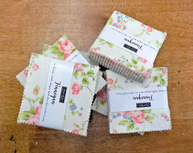 Finnegan mini charm pack by Brenda Riddle Designs for Moda Fabrics
