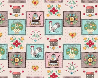Flea Market Kitchen Multi C10228-KITCHEN by Lori Holt of Bee in My Bonnet for Riley Blake Designs