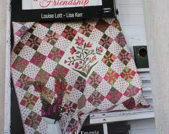 Vintage Quilts & Friendship by Louise Lott and Lisa Kerr for Quiltmania