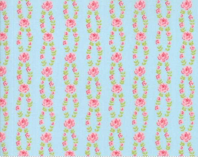 Fleurs Bluebell 18634 12 by Brenda Riddle for moda fabrics