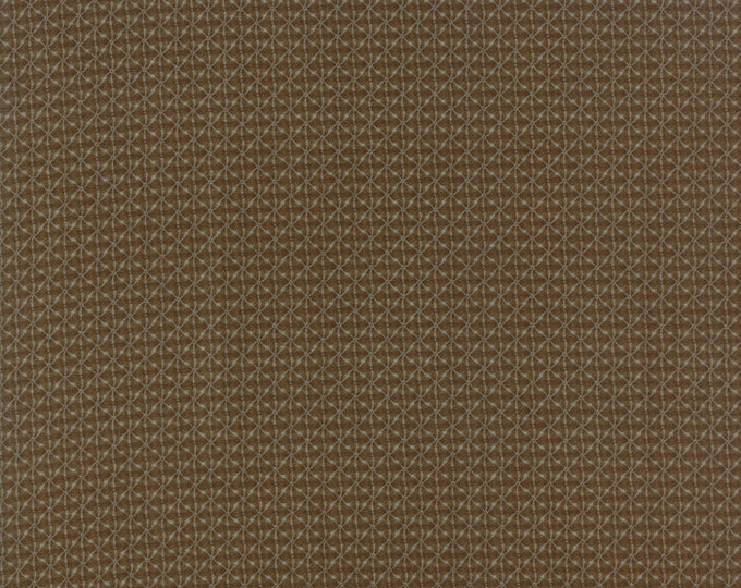 Heritage, collections for a cause 10th Anniversary, Dark Brown 46006 16 by Howard Marcus for Moda Fabrics