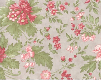 Rue 1800 44220-15 Dove floral by 3 Sisters for Moda Fabrics