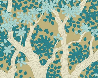 Woodland- Juniper Teal TIL100298-V11...a Tilda Collection designed by Tone Finnanger