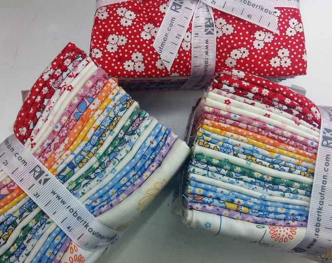 Tea Pot Garden Fat Quarter bundle by Darlene Zimmerman for Robert Kaufman...22 fat quarters and panel
