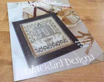 Swan Lake, Anniversaries of the Heart Pattern 7, by Blackbird Designs...cross-stitch design