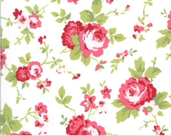 Sophie Main Floral Linen 18710 11 by Brenda Riddle for Moda Fabrics