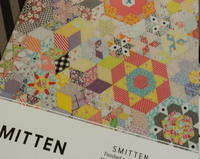 Smitten package...pattern, acrylic templates, and paper pieces