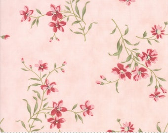 Rue 1800 44223-12 Rose floral by 3 Sisters for Moda Fabrics