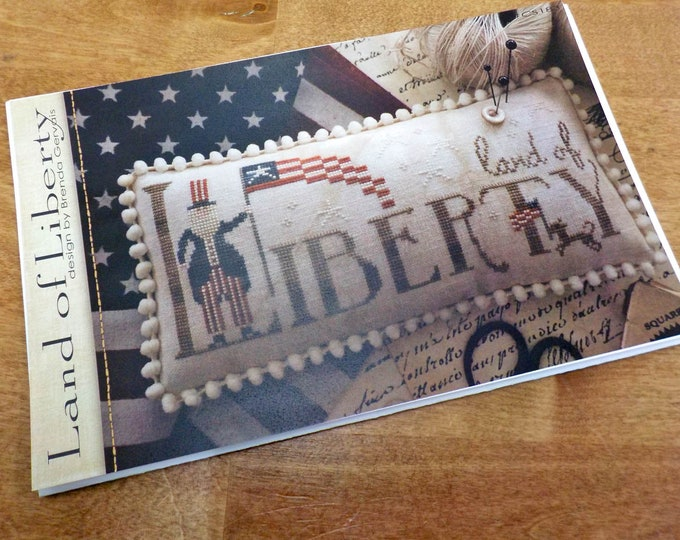 Land of Liberty by Brenda Gervais of With Thy Needle & Thread...cross-stitch design