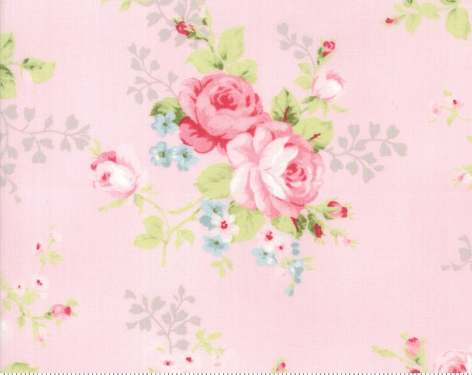 Amberley 18670 14 peony by Brenda Riddle Designs for Moda Fabrics