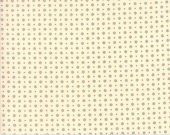 Merry Go Round Ivory Black 21726 by American Jane for moda fabrics