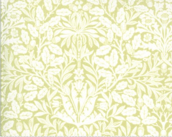 Dover Acorn Damask Willow 18701 19 by Brenda Riddle for Moda Fabrics