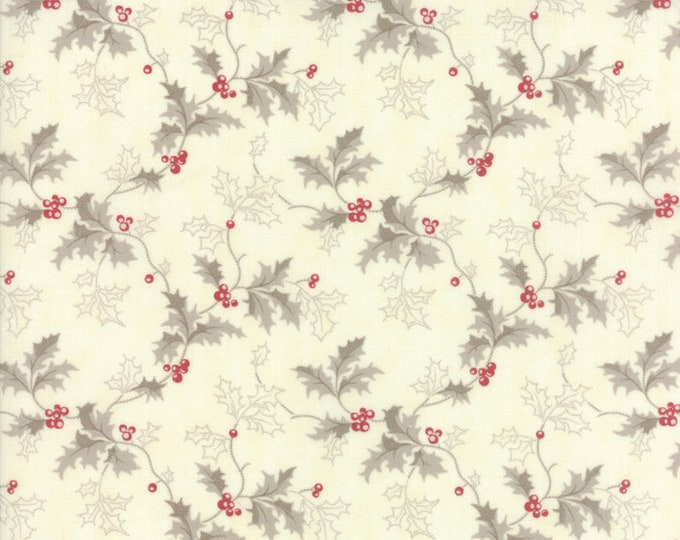 Holly Woods Snow Berry 44172 11 by 3 Sisters for Moda Fabrics