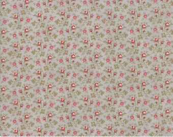 Porcelain Silver 44195 13 by 3 Sisters for moda fabrics