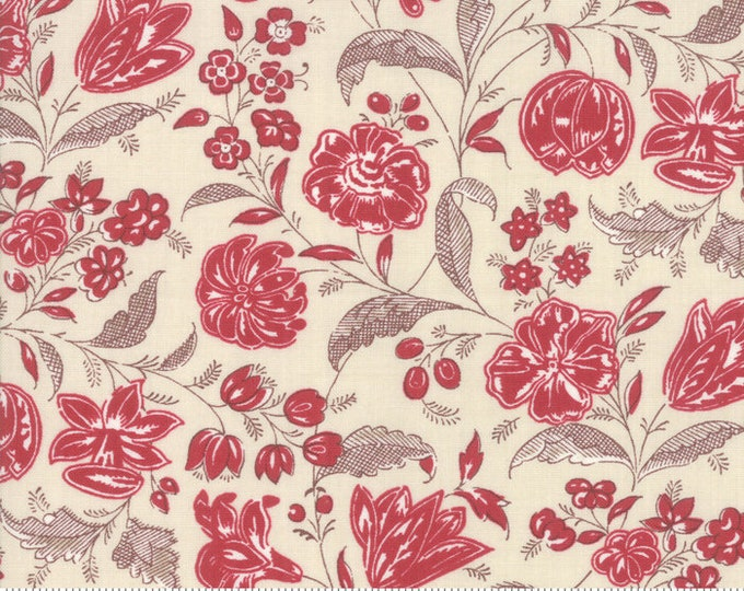 Chafarcani Rouge Pearl 13853 12 by French General for moda fabrics