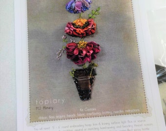 Topiary by MJ Hiney...the Ribbon Muse...complete kit with instructions