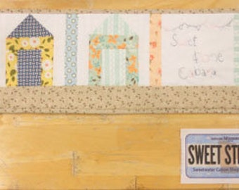 Candy Cabana Row x Row kit & Plate Mickey Zimmer for Sweetwater Cotton Shoppe (RxR 2016 pattern)