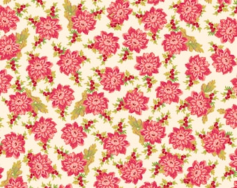 Sweet Beginning cream small floral MAS10012-E by Jera Brandvig of Quilting in the Rain for Maywood Studios