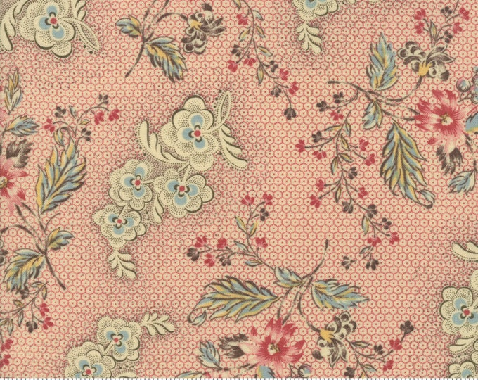 Susannas Scraps 1830-1875 Chocineal 31582 12 by Betsy Chutchian for Moda Fabrics