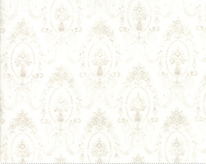 Amberley 18672 11 linen white by Brenda Riddle Designs for Moda Fabrics