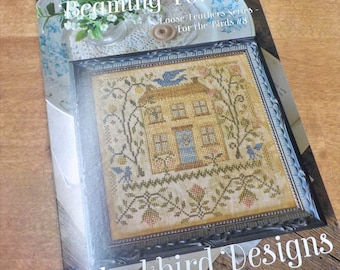 The Summer Beaming Forth, Loose Feathers Series For the Birds #8, by Blackbird Designs...cross-stitch design