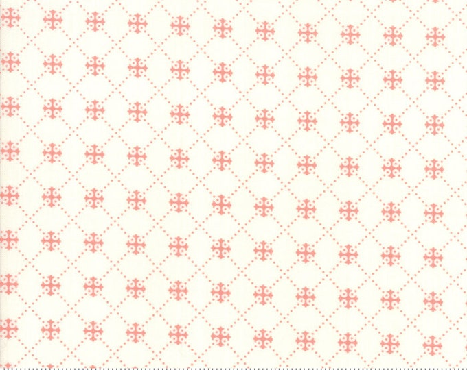 Scarlet and Sage Ivory 20367 15 by Joanna Figueroa of Fig Tree Quilts for moda fabrics