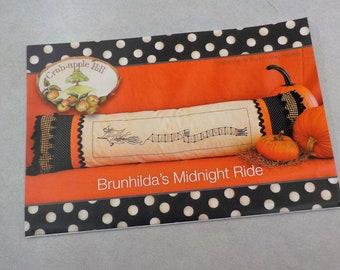 Brunhilda's Midnight Ride pattern by Meg Hawkey of Crabapple Hill Studio