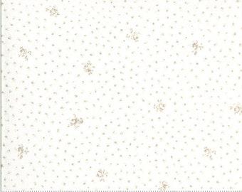 Dover Little Floral Linen White 18702 11 by Brenda Riddle for Moda Fabrics