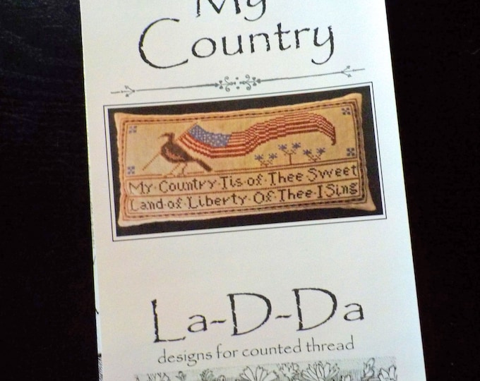 My Country by La-D-Da...cross stitch pattern