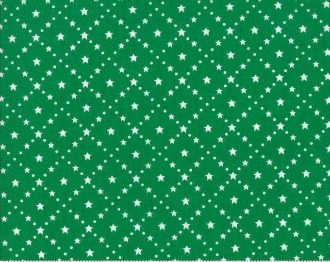 Merry Merry Snow Days Evergreen 2947 25 designed by Bunny Hill Designs for Moda Fabrics