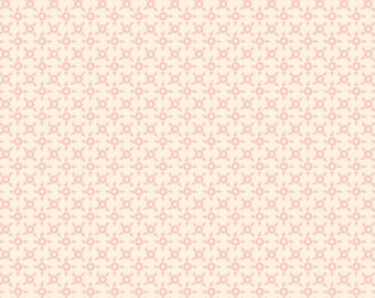 Sweet Beginning pink cream ditsy geometric MAS10016-E by Jera Brandvig of Quilting in the Rain for Maywood Studios