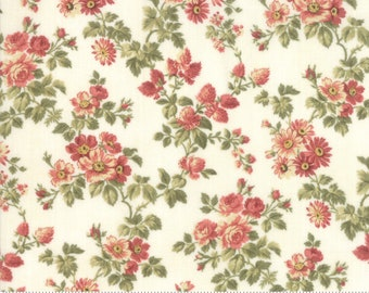 Memoirs Porcelain 44214 11 by 3 Sisters for Moda Fabrics