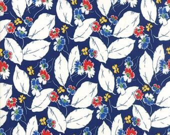 Feed Sacks True Blue Navy 23306 16 by Linzee Kull McCray for Moda Fabrics