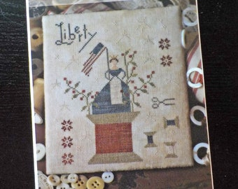 Grand Olde Flag by Brenda Gervais of With Thy Needle & Thread...cross-stitch design