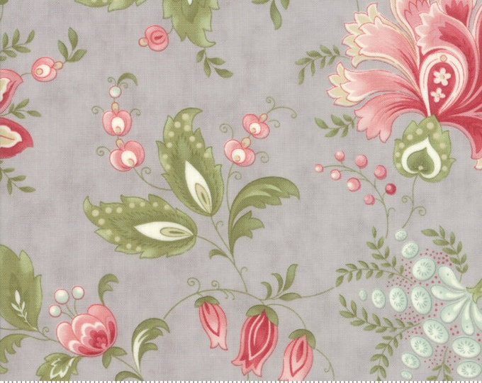 Porcelain Silver 44190 13 by 3 Sisters for moda fabrics
