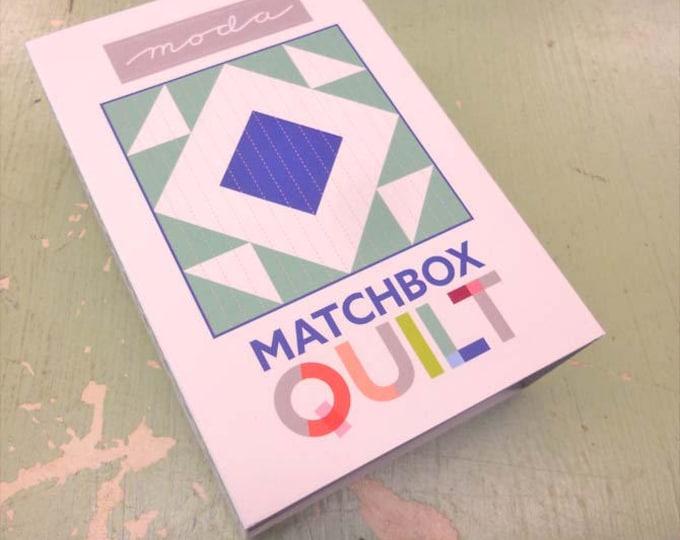 Matchbox Quilt No. 5 by moda fabrics...mini quilt kit...6 inch quilt kit