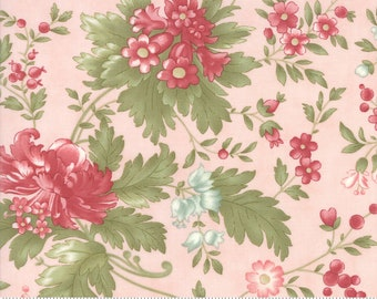 Rue 1800 44220-12 Rose floral by 3 Sisters for Moda Fabrics