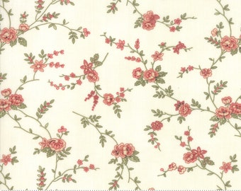 Memoirs Porcelain 44213 11 by 3 Sisters for Moda Fabrics