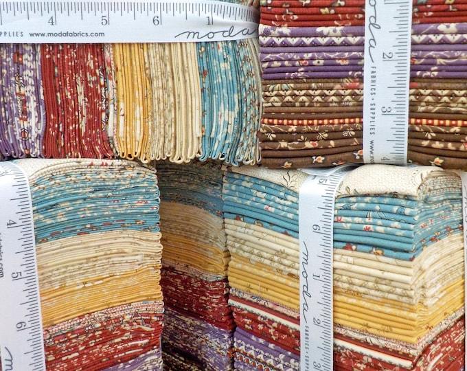 Susanna's Scraps 1830-1875, factory bundle, 38 fat quarters, fabric designed by Betsy Chutchian