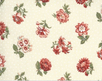 Jardin De Fleurs Pearl 13893 18 by French General for Moda Fabrics
