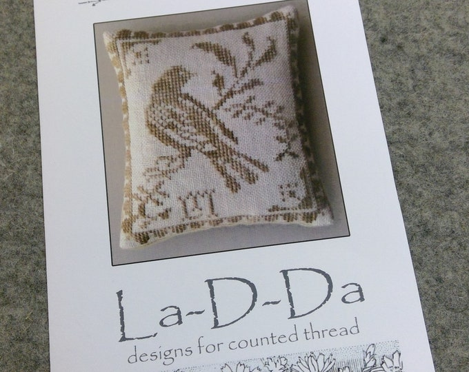 Yellow Bird by La-D-Da...cross stitch pattern