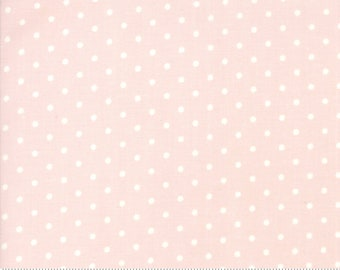 Rue 1800 44228-12 Rose dot by 3 Sisters for Moda Fabrics